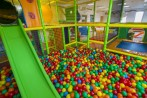 play room with playground maze