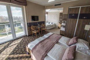 Exclusive double bedroom – with Jacuzzi and panoramic view